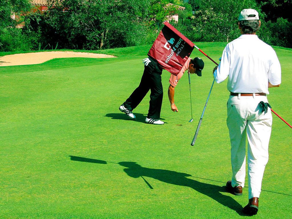 Torremirona-Golfspieler