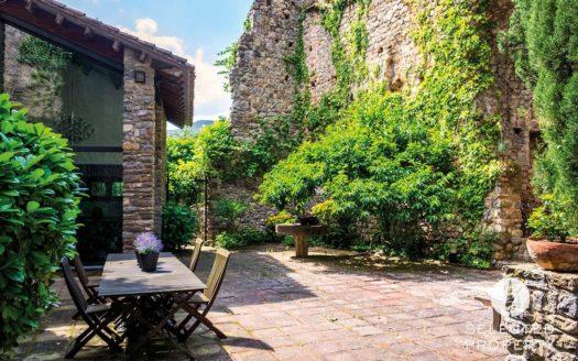 Sant-Llorence-Haus-Ruinenensemble